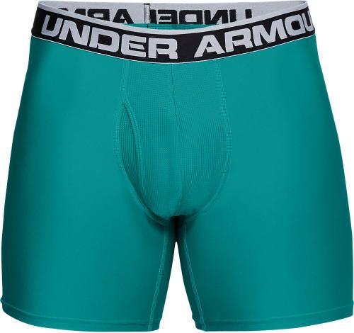 Under Armour bokserki Series 6 Boxerjock dwupak zielone/niebieskie r. S (1282508-381)