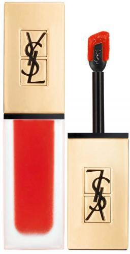 YVES SAINT LAURENT Tatouage Couture Lip Matte Stain matowa pomadka w plynie 13 True Orange 6ml