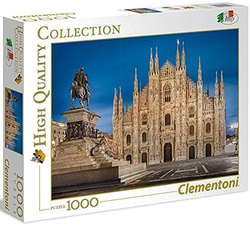 Clementoni Puzzle 1000el Italian Collection - Mediolan