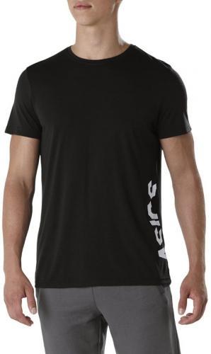 Asics Koszulka męska ESNT DBL Gpx SS czarna r. L (155235 0904)
