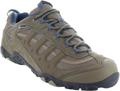 Hi-tec Buty męskie Penrith Low WP Smokey Brown/Taupe/Majolica Blue r. 41