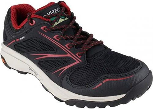 Hi-tec Buty męskie Speed-Life Breathe Ultra Black/Core Red/Warm Grey r. 42