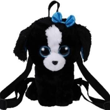 TY Plecak pies Gear Tracey czarno-biały (273248)