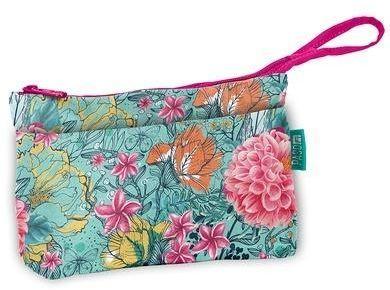 PASO Kosmetyczka kolorowe kwiaty - 275505