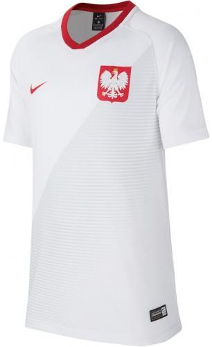 Nike Koszulka piłkarska Reprezentacji Polski Y FTBL TOP SS Home biała r. XL (158-170cm) (894013 100)