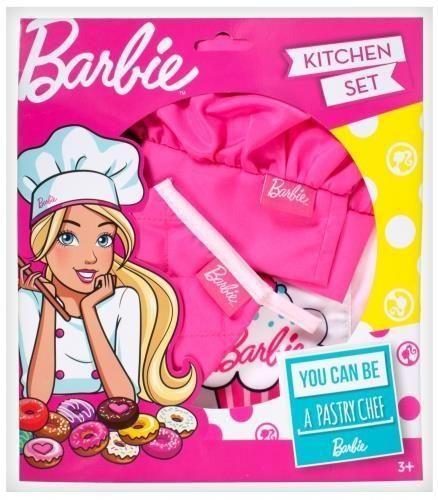 MEGA CREATIVE Zestaw mały kucharz Barbie