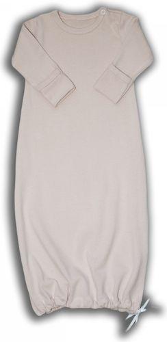 Nanaf Organic Nanaf Organic, ROSE, Pierwsze ubranko, koszulka do spania 0-3 m - NOR-05/56/62
