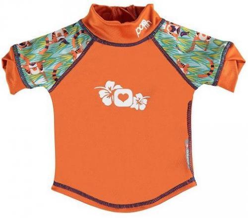 Close Koszulka do pływania UPF50+ Tygrys (Oswald and Bo) pomarańczowa r. 80 (C050126679)