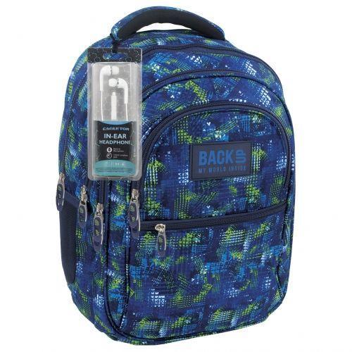 Derform Plecak BackUP B 30 niebiesko-zielony (PLB1B30)