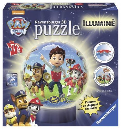 Ravensburger Puzzle 72 elementy - Lampka, Psi Patrol  (GXP-632973)
