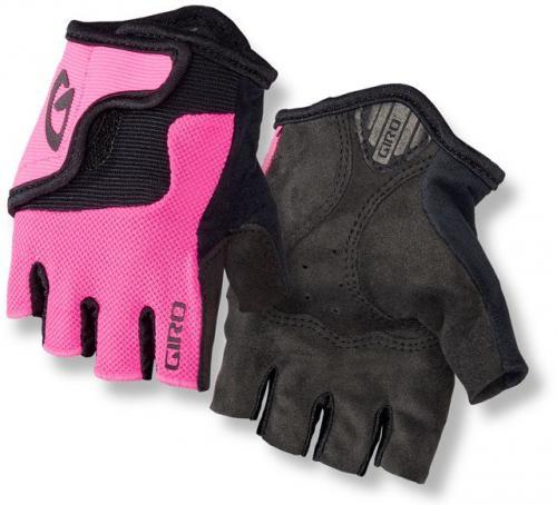 GIRO Rękawiczki rowerowe dziecięce Bravo JR bright pink r. M (GR-7076390)