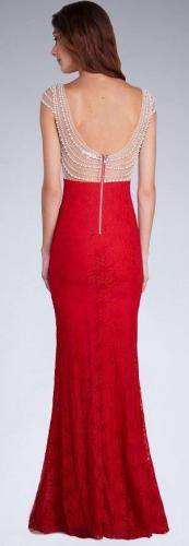 SOKY&SOKA Sukienka czerwona r. M (15957)
