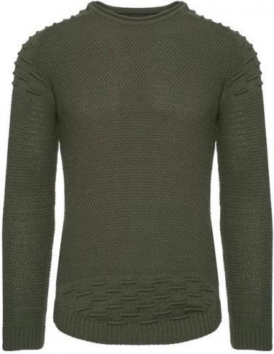 YNS Sweter męski 27003-2  khaki r. XL