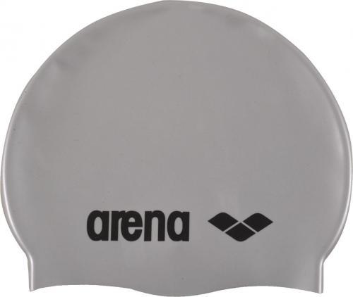 Arena Czepek pływacki Classic Silicone szaro-czarny (91662/51)