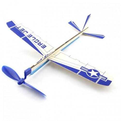 ZT Model Szybowiec Eagle Jet 300mm z napędem gumowym (ZT/XA06101)