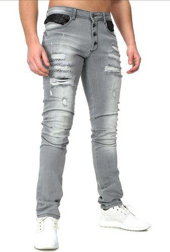 CRSM Spodnie Jeansowe z dziurami