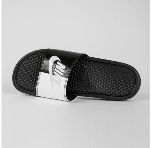 Nike Klapki męskie Benassi JDI czarno-białe r. 46 (343880 015)