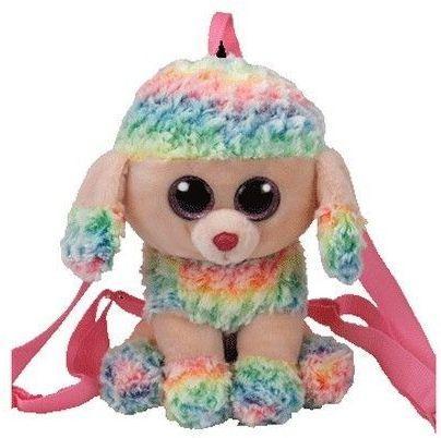 TY Plecak Rainbow wielobarwny pudel (273246)