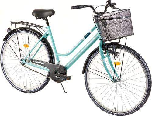 "Kreativ Damski rower trekkingowy Comfort 2812 28""  model 2018 Kolor Turkus"