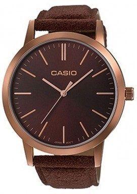 Zegarek Casio Zegarek damski Casio Classic brązowy (LTP-E118RL-5AE)