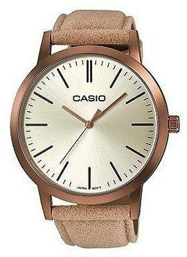 Zegarek Casio damski Classic brązowy (LTP-E118RL-9AEF)
