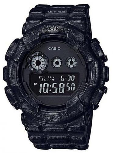 Zegarek Casio Zegarek męski G-Shock Black Out Limited czarny (GD-120BT-1ER)