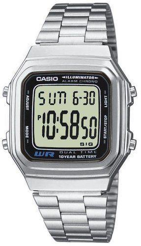 Zegarek Casio Zegarek Sport srebrny (A178WEA-1AES)