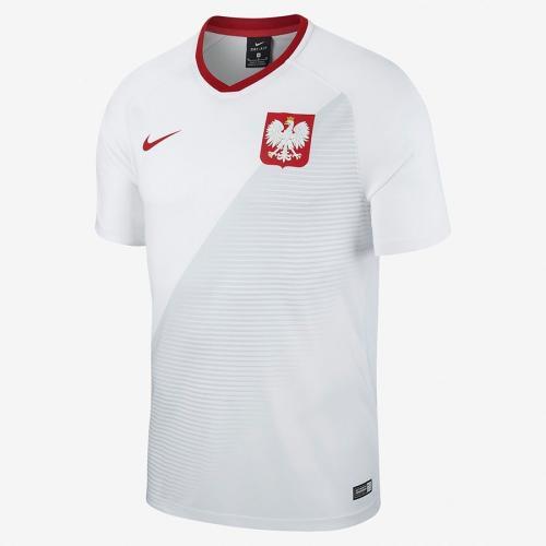 Nike Koszulka piłkarska Reprezentacji Polski FTBL Top SS Home  biała r. L (893891 100)