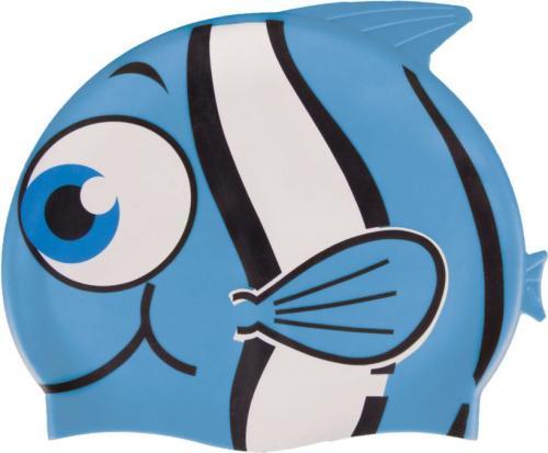 Spokey Czepek pływacki silikonowy Nuui Fish niebieski