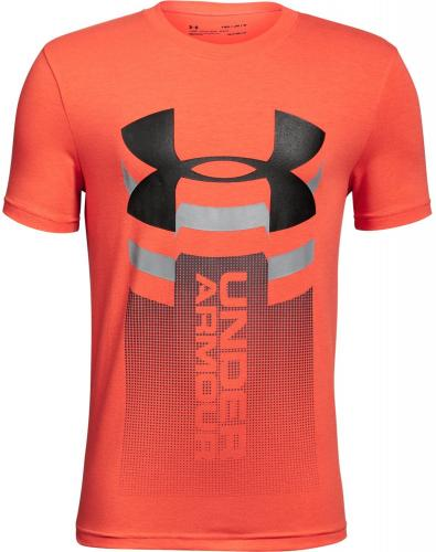 Under Armour Koszulka dziecięca Veritcal Logo T-shirt Orange r. S (1310271847)