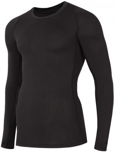 4f Koszulka męska Baselayer czarna r. S (D4L18-TSMLF401)