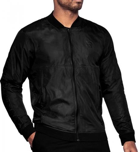 Under Armour Kurtka męska Sportstyle Wind Bomber Jacket czarna r. M (1310588-001)