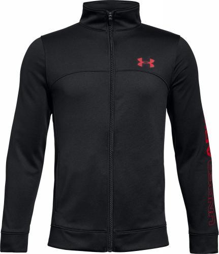 04ab81525741 Under Armour Bluza juniorska Pennant Warm-Up Jacket czarna r. S (1281069-