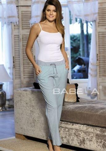 Babella Spodnie Amelia 3080-1 Miętowe r. XL