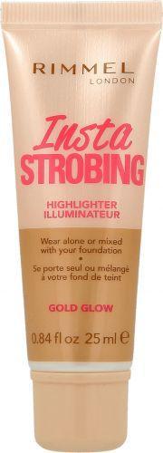 Rimmel  Insta Strobing Highlighter Nr 002 Gold Glow Płynny rozświetlacz do twarzy 25 ml