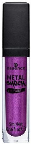 Essence Metal Shock Lip Paint błyszczyk metaliczny do ust 02 Hemlock 5ml