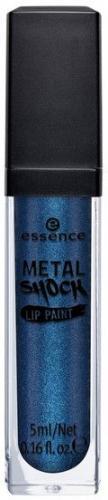 Essence Metal Shock Lip Paint błyszczyk metaliczny do ust 01 Belladonna 5ml