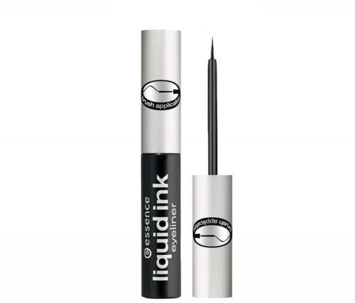 Essence Eyeliner w płyniee Liquid Ink Eyeliner Black 3ml