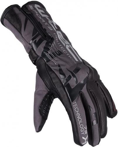 W-TEC Rękawice motocyklowe Kaltman HLG-751 czarno-szare r. 3XL (17218)