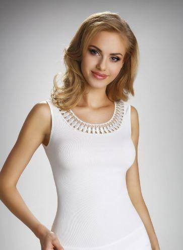 Eldar Koszulka Olinea Plus Biała r. 2XL