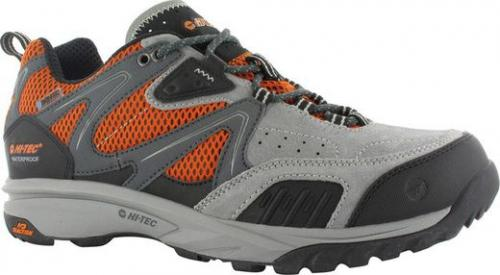 Hi-tec Buty męskie Razor Low Wp Charcoal/Black/Orange r. 39