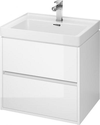 Cersanit Szafka podumywalkowa Crea 59,4cm biały wysoki połysk lakier (S924-003)