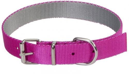 Dingo Obroża Energy Silver różowa 2.5/55cm