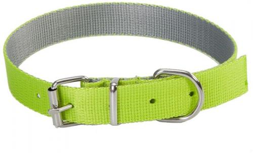 Dingo Obroża Energy Silver zielona 2.5/55cm