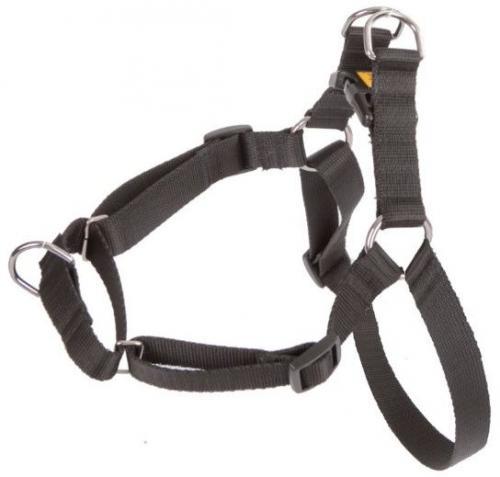 Dingo  Szelki Easy Walk dla psów ciągnących 48-64cm czarne