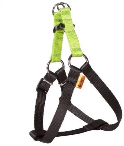 Dingo Szelki FRED dla psa z taśmy ENERGY zielone r. 40