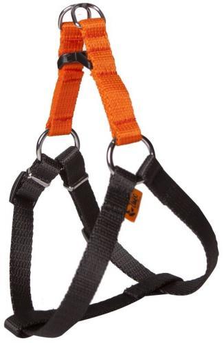Dingo Szelki FRED dla psa z taśmy ENERGY pomarańczowe r. 40