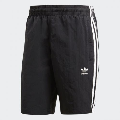 Adidas Szorty pływackie męskie Originals 3 Stripes czarne r. L (CW1305)
