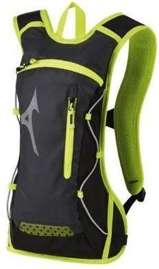 Mizuno Plecak sportowy Running Backpack Dark Grey/Lime