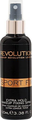 Makeup Revolution Sport Fix Fixing utrwalacz makijażu spray mgiełka do twarzy 100ml